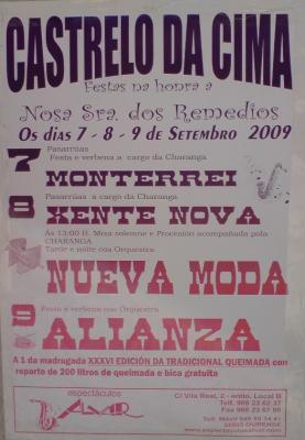 Fiestas en Castrelo de Cima