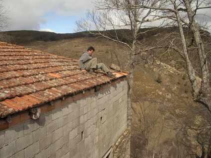 Días de frío y viento en Castrelos