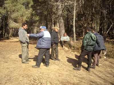Encuentro entre comuneros de Florderrei y de Castrelo de Cima para marcar lindes
