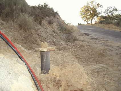 Nuevo pozo de barrena en Castrelo de Cima