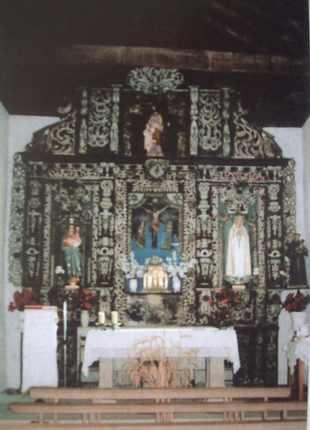 Presentado presupuesto para restaurar el retablo de la iglesia parroquial de Castrelo de Cima