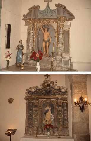 Los comuneros de Castrelo de Cima acuerdan destinar fondos para restaurar los retablos de la iglesia parroquial